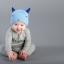 หมวกบีนนี่ หมวกเด็กสวมแบบแนบศีรษะ ลายหน้ายิ้ม (มี 5 สี) thumbnail 3
