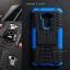 เคส Zenfone 3 Laser ( ZC551KL ) กรอบบั๊มเปอร์ กันกระแทก Defender สีน้ำเงิน (เป็นขาตั้งได้) thumbnail 1