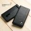 """เคส Zenfone GO TV 5.5"""" (DTAC Edition) เคสฝาพับเกรดพรีเมี่ยม ลายหนัง พร้อมช่องใส่บัตรด้านใน (พับเป็นขาตั้งได้) สีดำ (หมุดเหล็ก) thumbnail 1"""