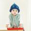 หมวกไหมพรมสำหรับเด็ก หมวกกันหนาวเด็กเล็ก หมวกบีนนี่ สีทูโทน (มี 5 สี) thumbnail 6