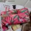 Victoria's Secret Tropical hawaii style satin zip wallet thumbnail 5