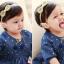 HB082••ที่คาดผมเด็ก•• โบว์เลื่อม (มี 2 สี) thumbnail 4