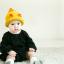 หมวกไหมพรมสำหรับเด็ก หมวกกันหนาวเด็กเล็ก หมวกบีนนี่ สีทูโทน (มี 5 สี) thumbnail 9