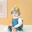 หมวกไหมพรมสำหรับเด็ก หมวกกันหนาวเด็กเล็ก หมวกบีนนี่ สีทูโทน (มี 5 สี) thumbnail 18
