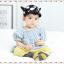 HT317••หมวกเด็ก•• / หมวกแก็ป-ลายวัว (สีดำ) thumbnail 2