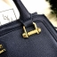 LYN Madison Bag สีน้ำเงิน กระเป๋าถือหรือสะพายทรงสวย รุ่นใหม่ล่าสุด วัสดุหนัง Saffiano thumbnail 12