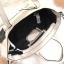 Zara Trf Leather Tote Bag สีขาว #รุ่นยอดนิยม #ใบใหญ่ทนคุ้มค่ะ thumbnail 9