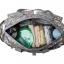 Ecosusi กระเป๋าสัมภาระคุณแม่ กระเป๋าใส่ผ้าอ้อม แขวนรถเข็นเด็กได้ หิ้ว หรือสะพายไหล่ได้ (Grey Cute Tree) thumbnail 26