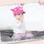 HT319••หมวกเด็ก•• / หมวกแก็ป-ลายวัว (สีชมพูเข้ม) thumbnail 3