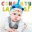 หมวกบีนนี่ หมวกเด็กสวมแบบแนบศีรษะ ลายหนู (มี 4 สี) thumbnail 8