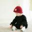 หมวกไหมพรมสำหรับเด็ก หมวกกันหนาวเด็กเล็ก หมวกบีนนี่ สีทูโทน (มี 5 สี) thumbnail 2