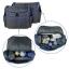 Ecosusi กระเป๋าคุณแม่ พร้อมอุปกรณ์รวม 5 ชิ้น มีกระเป๋าสะพายใหญ่สองใบ แผ่นรองเปลี่ยนผ้าอ้อม กระเป๋าใส่ขวดนม กระเป๋าใส่ของ (ผิวเย็บบุฟองน้ำนุ่ม) thumbnail 10