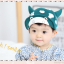 HT320••หมวกเด็ก•• / หมวกแก็ป-ลายวัว (สีเขียว) thumbnail 1