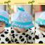 HT480••หมวกเด็ก•• / หมวกปีกกว้าง-กระต่าย (สีฟ้า) thumbnail 5