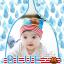 HT192••หมวกเด็ก•• / [สีฟ้า] นกฮูก thumbnail 1