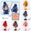 หมวกไหมพรมสำหรับเด็ก หมวกกันหนาวเด็กเล็ก ลายดวงดาวติดปีก (ไม่มีผ้าพันคอ) [มี 5 สี] thumbnail 1