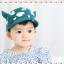 HT320••หมวกเด็ก•• / หมวกแก็ป-ลายวัว (สีเขียว) thumbnail 3