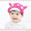 HT319••หมวกเด็ก•• / หมวกแก็ป-ลายวัว (สีชมพูเข้ม) thumbnail 1