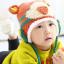 หมวกไหมพรมสำหรับเด็ก หมวกกันหนาวเด็กเล็ก ลายเสือ (มี 5 สี) thumbnail 11