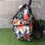 Kipling City Pack S Go Twist ลาย Stripe Quilt K1801454Z thumbnail 4