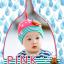 HT193••หมวกเด็ก•• / [สีชมพู] นกฮูก thumbnail 1