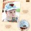หมวกแก๊ป หมวกเด็กแบบมีปีกด้านหน้า ลายหมีสกรีนสามเหลี่ยม (มี 4 สี) thumbnail 17