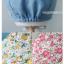 หมวกไพลอท หมวกนักบินมีหูสำหรับเด็ก ลายพื้น ด้านในลายดอกไม้ (มี 2 สี) thumbnail 13