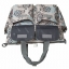 Ecosusi กระเป๋าสัมภาระคุณแม่ กระเป๋าใส่ผ้าอ้อม แขวนรถเข็นเด็กได้ หิ้ว หรือสะพายไหล่ได้ (Grey) thumbnail 6