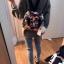 Kipling Mini Backpack รุ่น -k12688 small flower printed 3 in 1 thumbnail 9