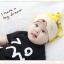 HT406••หมวกเด็ก•• / หมวกบีนนี่-หมีมงกุฎ (สีเหลือง) thumbnail 3