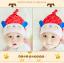 หมวกบีนนี่ หมวกเด็กสวมแบบแนบศีรษะ ลายกระต่ายน้อย (มี 5 สี) thumbnail 9