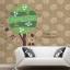 สติกเกอร์แต่งห้อง DIY ลาย Happy Tree ลอกออกแล้วติดซ้ำได้ thumbnail 5