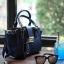 Amory Leather Mini Lock City Bag มีถุงผ้าแบรนด์ , ป้ายหนังแท้ thumbnail 6