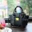 Amory Leather Mini Lock City Bag มีถุงผ้าแบรนด์ , ป้ายหนังแท้ thumbnail 7