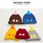 หมวกไหมพรมสำหรับเด็ก หมวกกันหนาวเด็กเล็ก หมวกบีนนี่ สีทูโทน (มี 5 สี) thumbnail 21