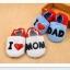 รองเท้าหัดเดินเด็กอ่อน ลาย I love Dad วัย 0-12 เดือน thumbnail 4