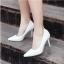 รองเท้าส้นเข็มไซส์ใหญ่ ทรงหัวแหลม ไซส์ 42 สีขาว รุ่น KR0645 thumbnail 4