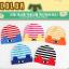 HT438••หมวกเด็ก•• / หมวกบีนนี่-ดวงตา (สีชมพู/ขอบเหลือง) thumbnail 5