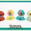AP078••เซตหมวก+ผ้ากันเปื้อน•• / [สีเหลือง] Bear thumbnail 6