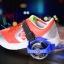 ล้อสเก็ตสวมรองเท้า Flashing Roller ล้อมีไฟ LED ปรับขนาดได้ตามวัย thumbnail 8