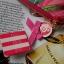 Victoria's Secret Tropical hawaii style satin zip wallet thumbnail 7