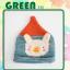 หมวกไหมพรมถักมือ ปลายหมวกแหลม หมวกบีนนี่สำหรับเด็ก ลายกระต่าย (มี 4 สี) thumbnail 10