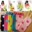 ถุงเท้ายาวเด็กหญิง 2-8 ปี ลายจุด แฟชั่นเกาหลี สีสันสดใสน่ารัก thumbnail 7