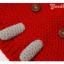 หมวกไหมพรมถักมือ หมวกบีนนี่สำหรับเด็ก ลายช้างน้อย (มี 5 สี) thumbnail 8