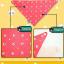 AP143••เซตหมวก+ผ้ากันเปื้อน•• / [สีเหลือง] แพนด้า thumbnail 9