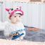 HT321••หมวกเด็ก•• / หมวกแก็ป-ลายวัว (สีชมพูอ่อน) thumbnail 1