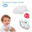 [แพค 6 ชิ้น] ที่เช็ดลิ้นทารก เช็ดคราบนม ป้องกันลิ้นเป็นฝ้า DUOLADUOBU thumbnail 3