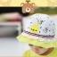 HT487••หมวกเด็ก•• / หมวกปีกกว้าง-Rabbit (สีเหลือง) thumbnail 3