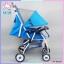 รถเข็นเด็กแบรนด์ natur รุ่น smart 3 สีฟ้า thumbnail 6