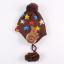 หมวกไหมพรมสำหรับเด็ก หมวกกันหนาวเด็กเล็ก ลายดวงดาวติดปีก (ไม่มีผ้าพันคอ) [มี 5 สี] thumbnail 17